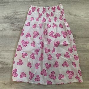 Walt Disney World Parks MICKEY MOUSE Print Dress M